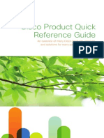Cisco CPQRG 2011 10 Product Qucik Reference Guide
