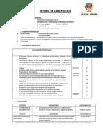 SESIÓN DE APREDIZAJE FCC 4to 5to