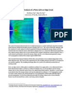 XFEM Analysis of a Plate With an Edge Crack.pdf