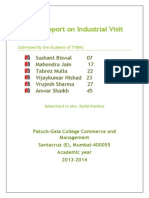 Project Report on Industrial Visit