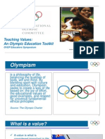 3. Teaching Values Presentation 5 Olympic Educational Values