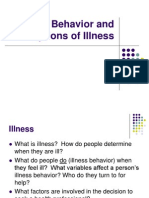 4. Illness Behavior and Perceptions of Illness