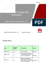 GSM-To-UMTS Training Series 13_WCDMA Single Site Verification_V1.0