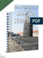 Diving Toy Submarine