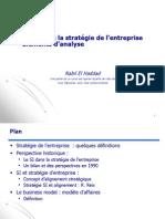 5-Le SI Dans StratéGie Entreprise 2012