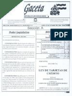 Decreto  106 - 2006  Ley  de  Tarjetas de  Crédito_