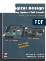 Haskell R.E., Hanna D.M. - Digital Design. Using Digilent FPGA Boards - 2010