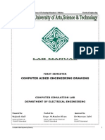 Computer Aided Engineering Drawing (CAD)