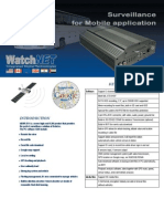 Watchnet x11 Mobile Dvr Spec Sheet