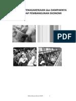 Kondisi Ketenagakerjaan Dan Dampaknya Terhadap Pembangunan Ekonomi