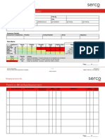 Permit to Work Risk Assessment Template