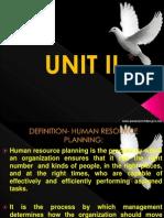 unit 2-Human resource management