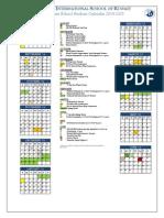 2014-15 ES Calendar