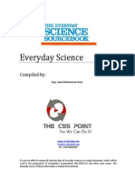The CSS Point - Everyday Science Book