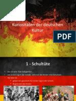 Kuriositäten der deutschen Kultur