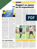 El azul y oro hasta la muerte - diario Clarín, Buenos Aires, Argentina - Por Julio Coronel