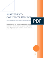 FACTORS AFFECTING FINANCIAL DECISIONS
