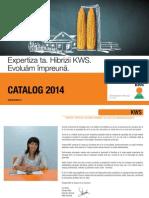 Catalog PORUMB 2014 Kws