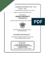 EdCET Information Brochure