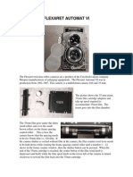 Flexaret VI Manual Foto Aparat