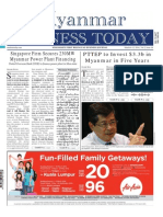 Myanmar Business Today - Vol 2, Issue 10