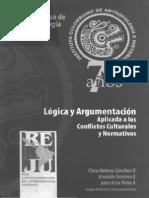 VI congreso de antropologia juridica Logica y argumentación aplicada a los conflictos...