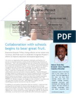 Dignitas Project Newsletter - September 2009