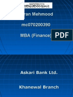 Mc070200390 Presentation Askari Bank Ltd.