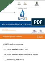 Prezentare Antreprenoriatul Feminin in Romania