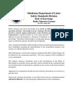 Ssd Boiler Operator Body of Knowledge Rev 8
