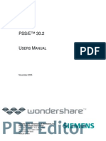 PSSE30-USERSManual