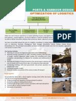 Ports and Harbour Design Logistics Optimization
