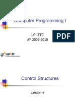 Computer Programming I