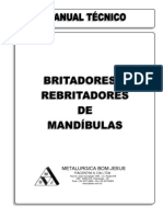 Britador de Mandíbulas - BM800 - Peças de Reposição