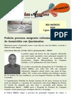 Polícia procura sargento reformado suspeito de homicídio em Queimadas