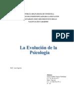 Evolucion de La Spicologia