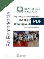 branksome long term sport development plan 2013