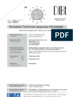 Ficher FAZII technical approval
