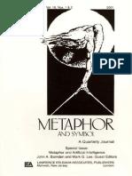BARNDEN - Metaphor and Artificial Intelligence