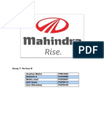 Mahindra Grp7 SecB SM1