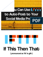 How to Use Ifttt to Autopost to Your Social Media Profiles 2014 by Thephenomenalva