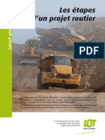 e Tapes Projet Routier