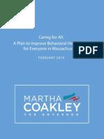 Martha Coakley Mental Illness & Substance Abuse