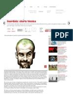 Guardiola_ charla técnica-Revista El Gráfico