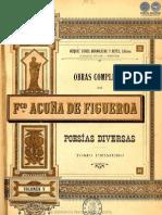 OBRAS COMPLETAS DE FRANCISCO ACUNA DE FIGUEROA - VOLUMEN V - PORTALGUARANI