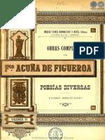OBRAS COMPLETAS DE FRANCISCO ACUNA DE FIGUEROA - VOLUMEN VI - PORTALGUARANI