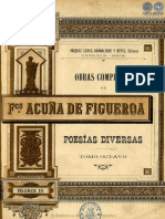 OBRAS COMPLETAS DE FRANCISCO ACUNA DE FIGUEROA - VOLUMEN XII - PORTALGUARANI