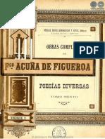 OBRAS COMPLETAS DE FRANCISCO ACUNA DE FIGUEROA - VOLUMEN X - PORTALGUARANI