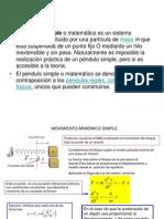 Diapositiva Del Pendulo Simple.. Diana