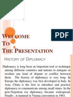 Asaduzzaman, 48, Diplomacy Presenation